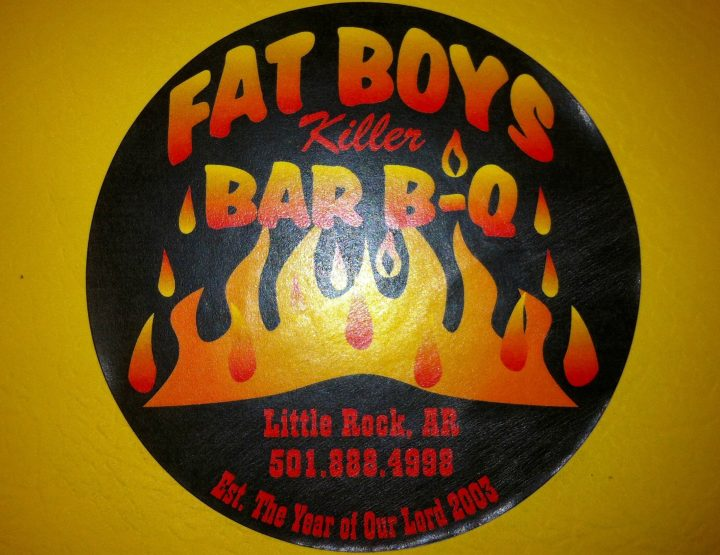 Lunching in Little Rock: Fatboys Killer BBQ