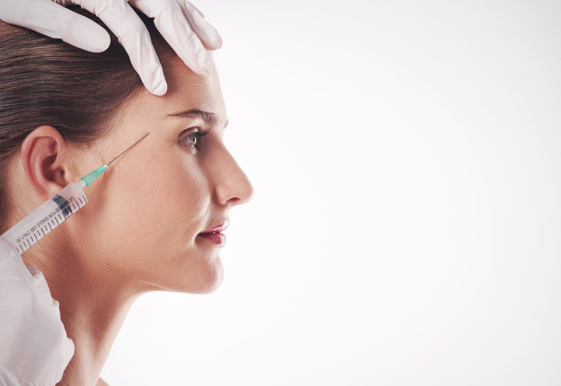 Botox stock image