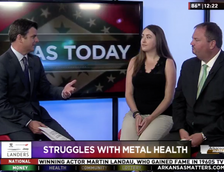 KARK Features Molly Miller, Mental Health Guide