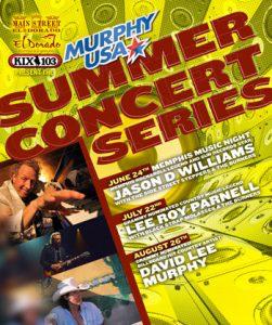 El Dorado Summer Concert Series Lineup