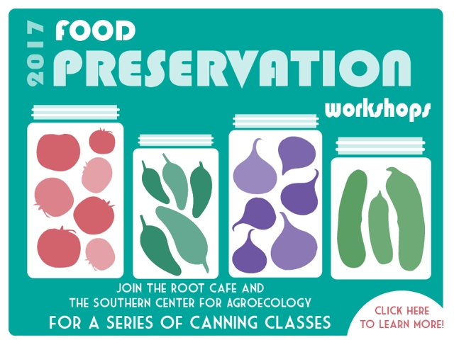 Learn the Art of Food Preservation with the Southern Center for Agroecology