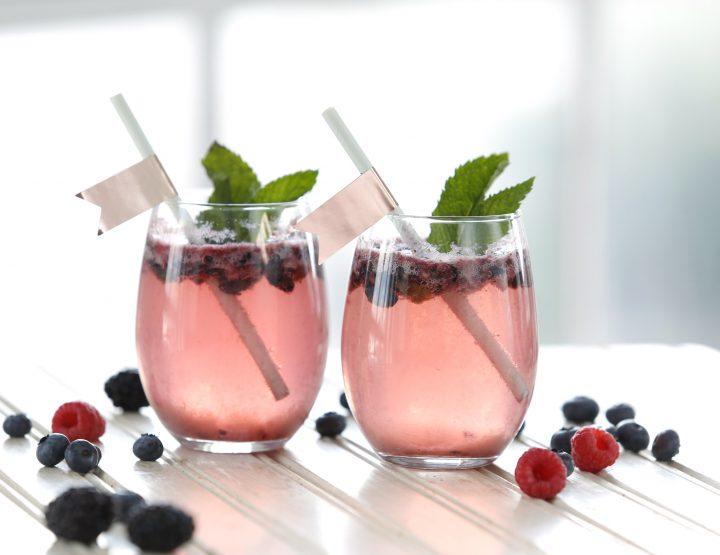 Recipe: Berry White Wine Spritzer from P. Allen Smith