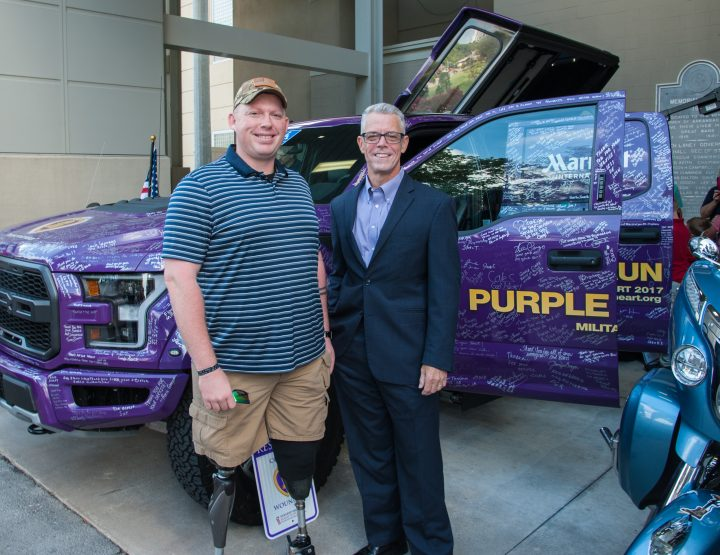 War-Wounded Arkansan Receives Specialized Truck From Veterans Associations