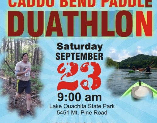 Try a Duathlon at Lake Ouachita State Park!