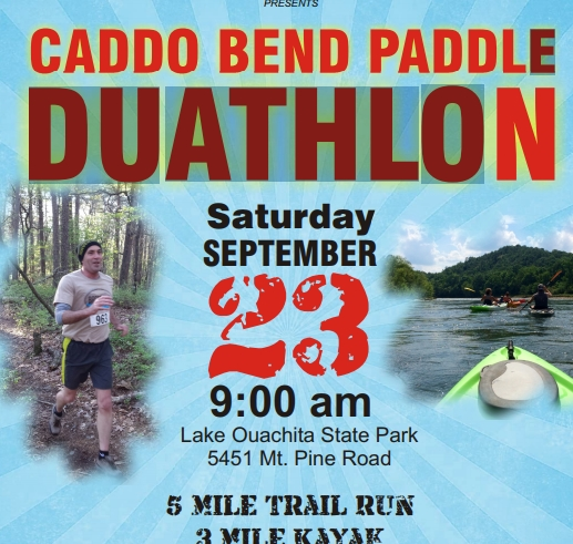Try a Duathlon at Lake Ouachita State Park!
