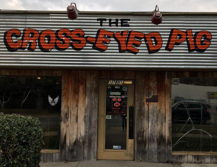 Lunching in Little Rock: Cross-Eyed Pig