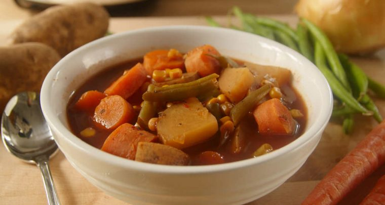 Recipe: Slow Cooker Vegetable Soup from P. Allen Smith