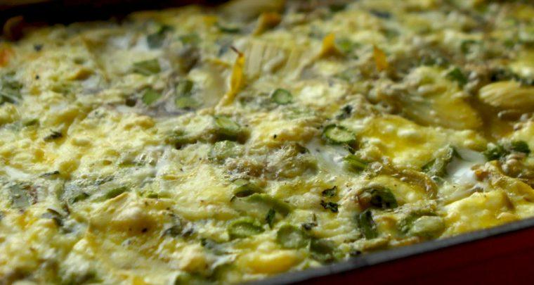 Recipe: Artichoke Asparagus Breakfast Bake from P. Allen Smith