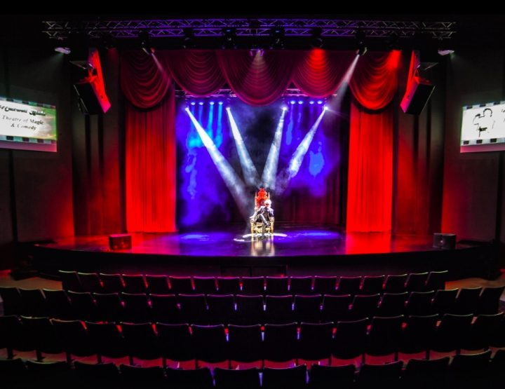 Maxwell Blade Theatre of Magic Opens at the Malco