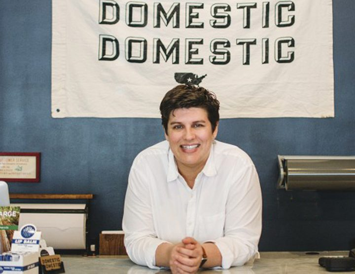 Lunching in Little Rock with Heather Smith of Domestic Domestic