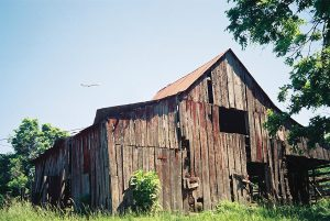 Partial Log Barn