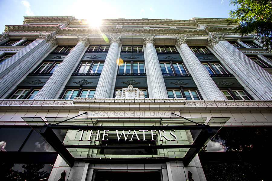 The Waters, a boutique hotel on Central Avenue, opened its 62 rooms and restaurant last year.