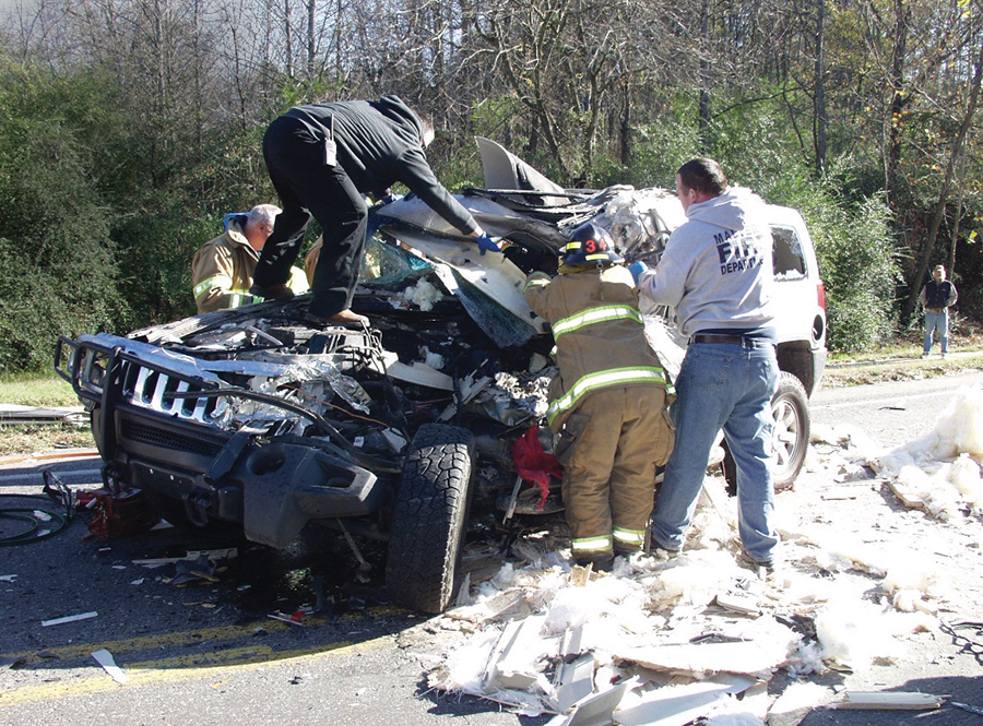 Amy Gray car crash