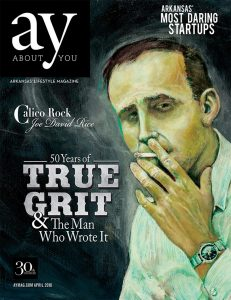 The cover of AY's April 2018 issue