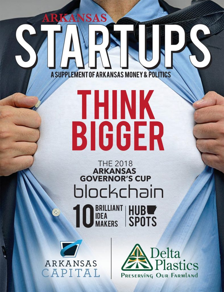 Arkansas Startups magazine section
