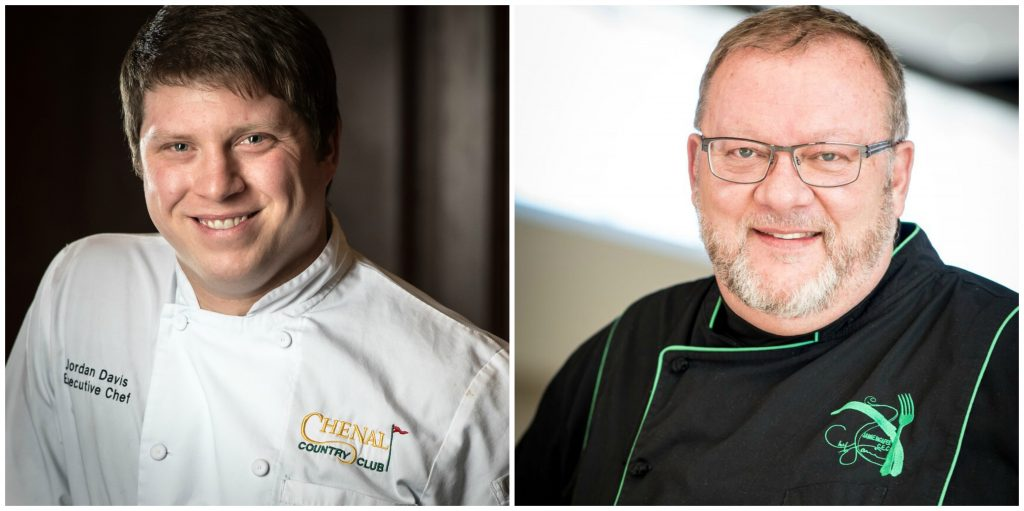 Jordan Davis and Jamie McAfee are two of the chefs competing for Diamond Chef Arkansas 2018