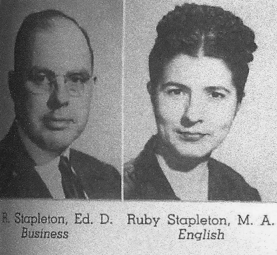 Raymond and Ruby Stapleton
