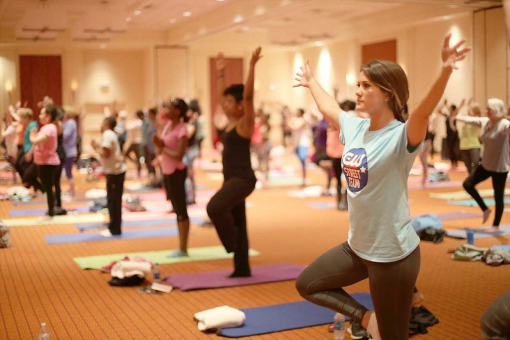 Donna Terrell S Yoga Warriors Fighting Colon Cancer