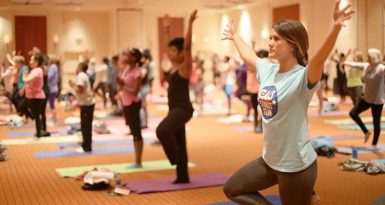Donna Terrell's Yoga Warriors Fighting Colon Cancer