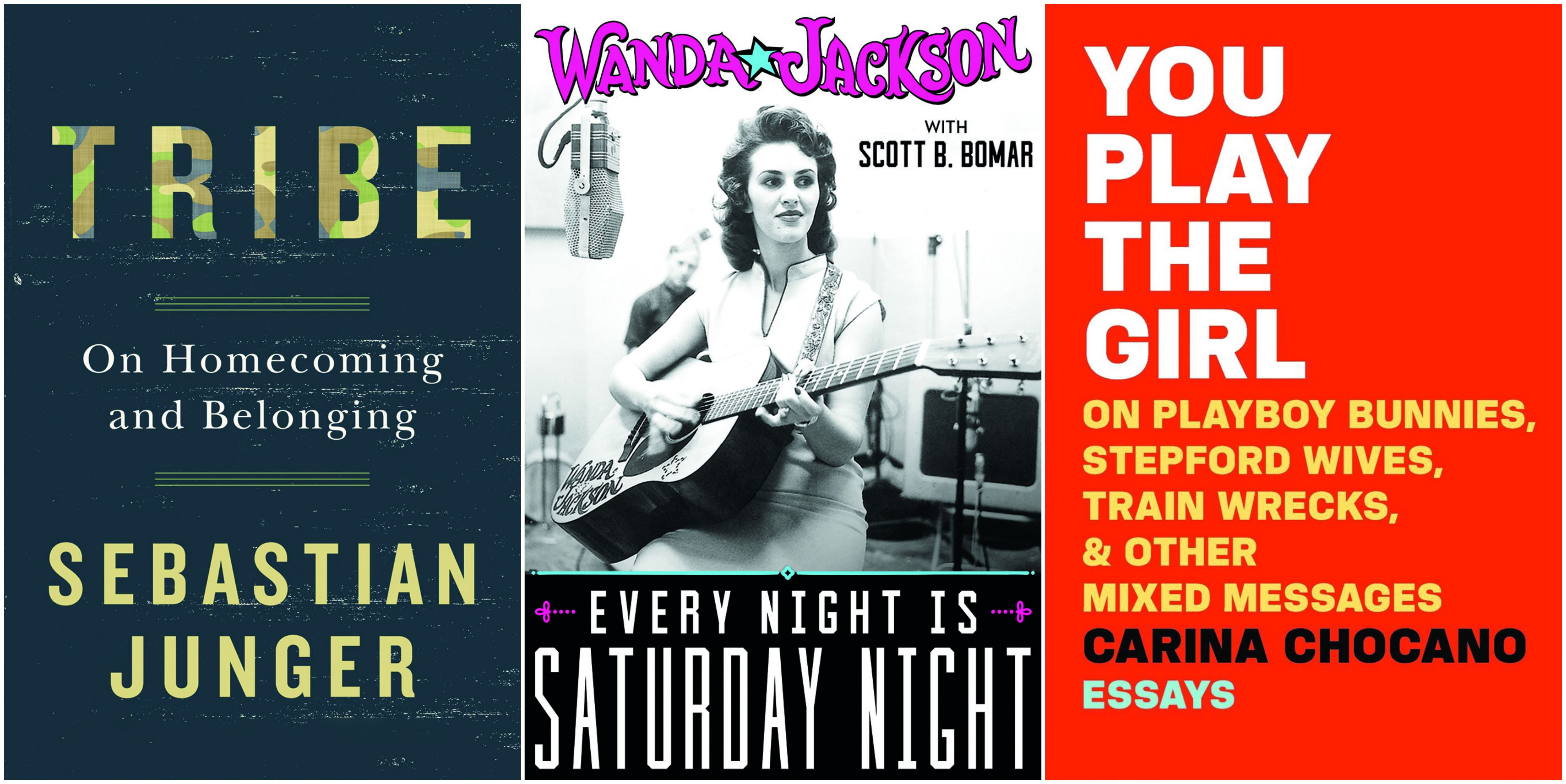 Sebastian Junger, Wanda Jackson and Carina Chocano will attend the Arkansas Literary Festival