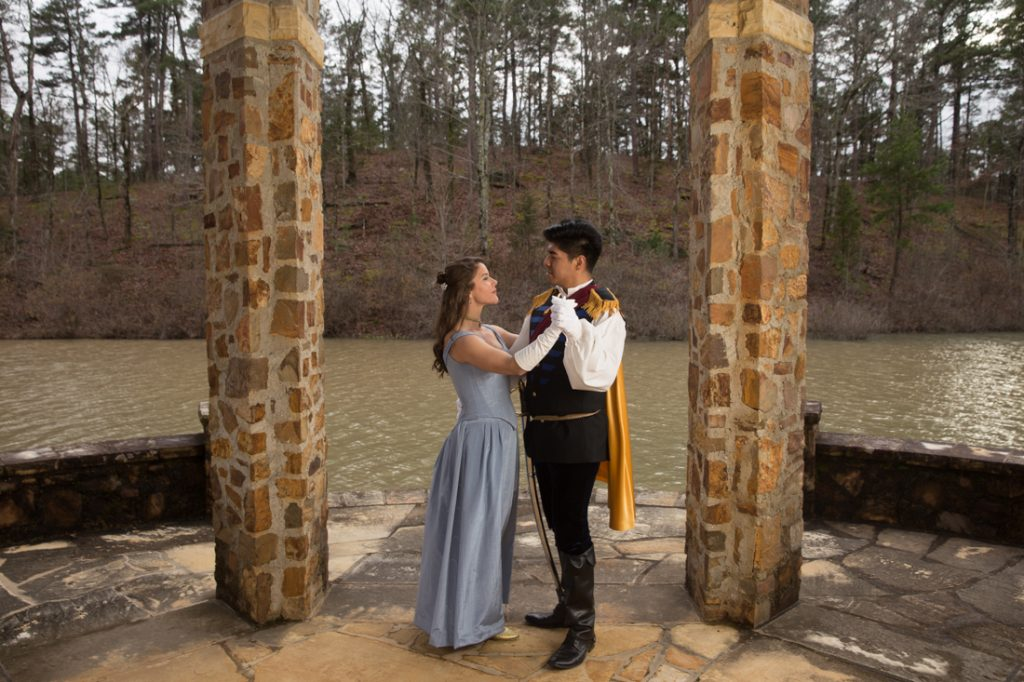 See Cinderella and Prince Charming in 'Into the Woods' at Wildwood Park for the Arts.