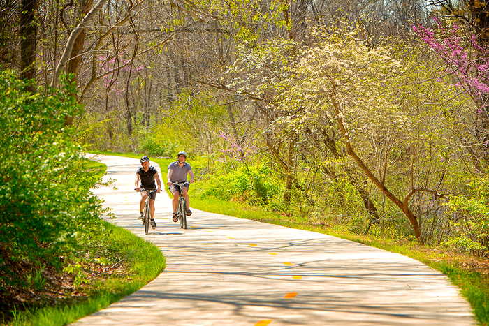 Razorback Regional Greenway is Great Family Ride