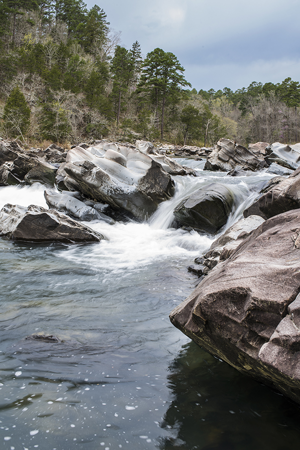 The falls of the Cossatot