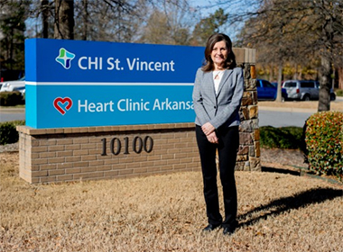 CHI St. Vincent Heart Institute Sponsors Central Arkansas Heart Walk