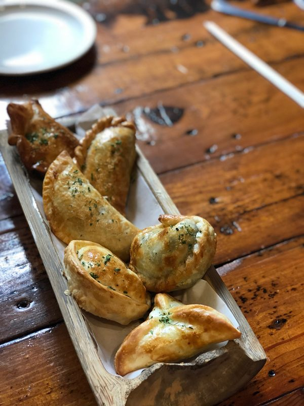 Empanadas at Buenos Aires Grill and Cafe in Little Rock