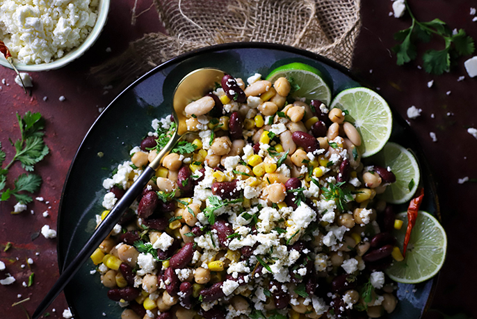 Ritika on the Rock: A Spin on Summer Salad