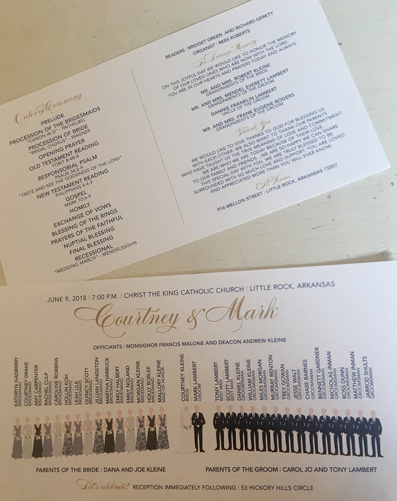 Wedding invitations from By Invitation Only, one of Lisa's Favorite Things