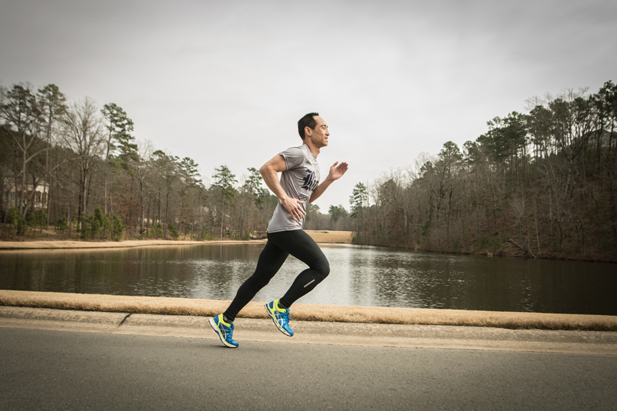 Running can help you take care of your body and mind.