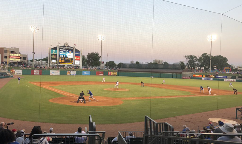 Dickey-Stephens Park, home of the Arkansas Travelers.