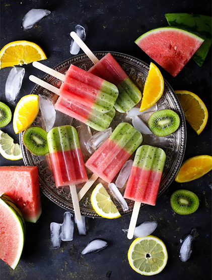 Ritika on the Rock: Fresh Fruit Popsicles