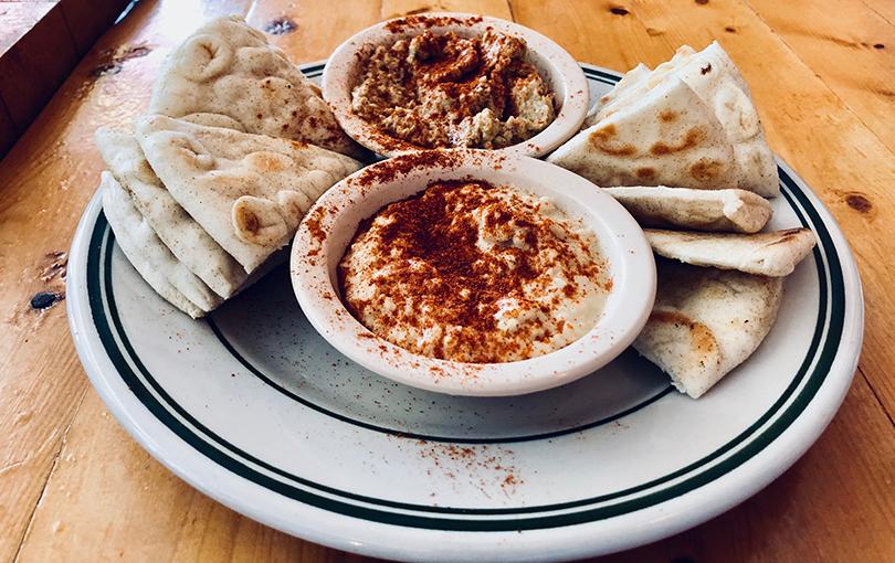 Hummus at Leo's Greek Castle in Little Rock's Hillcrest neighborhood.