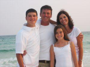 Blackwood family Destin vacation