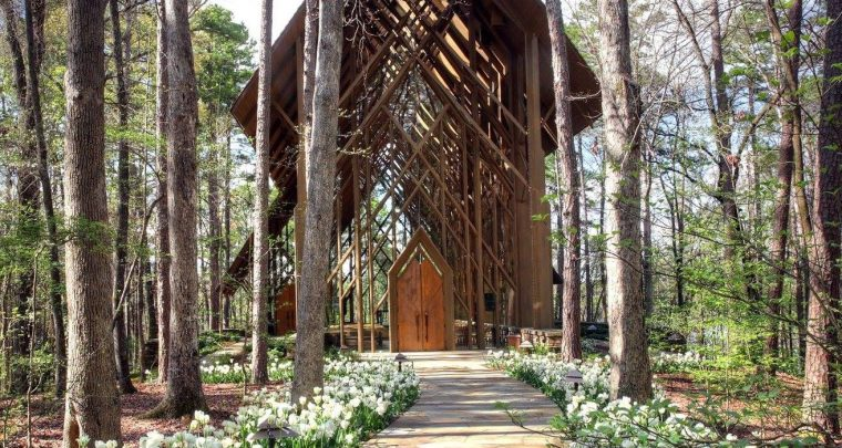 Wedding-Worthy Chapels in Arkansas