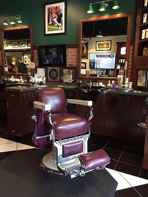 Barber chair V's Barbershop