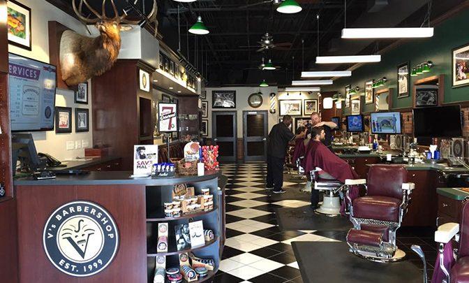 The Man Cave: V's Barbershop