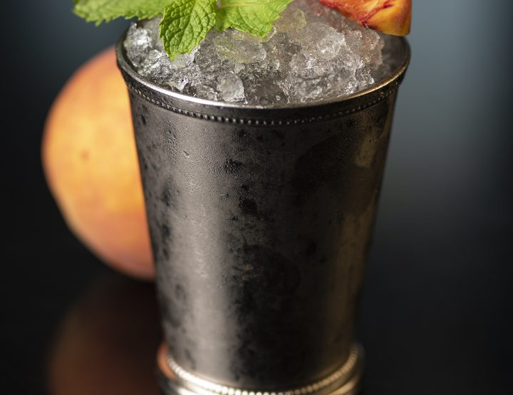 Cocktails at the Capital: Mint Peach Julep