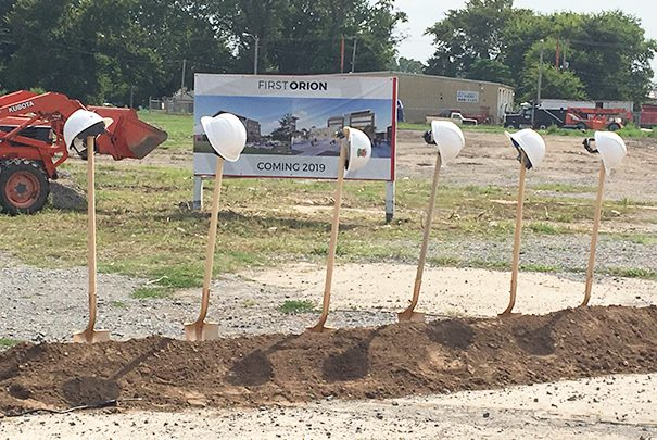 First Orion Holds Groundbreaking for Argenta Headquarters