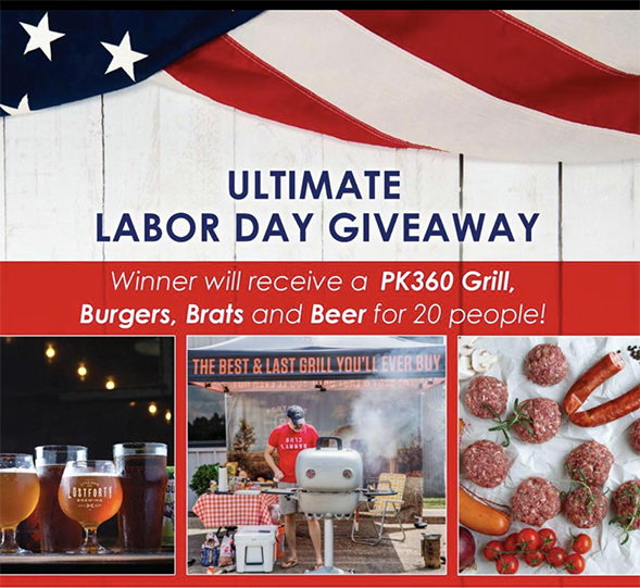 Enter to Win PK Grills' Ultimate Labor Day Weekend Party