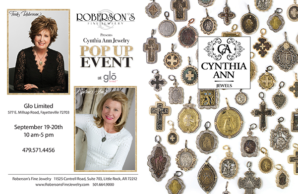 Roberson's Fine Jewelry Holding Cynthia Ann Pop-Up Event