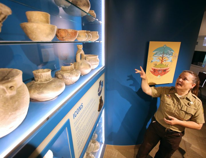 Hampson Archeological Museum State Park Opening New Facility