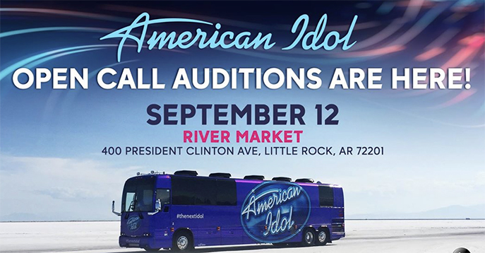 American Idol is Coming to Arkansas