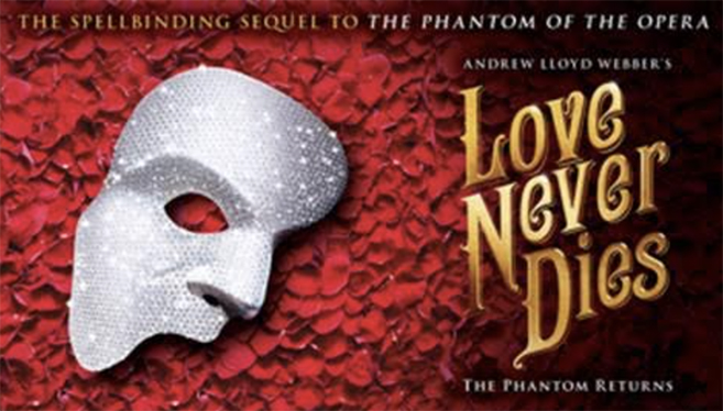 Love Never Dies Tickets Go on Sale This Week