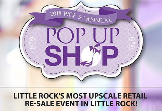 WCF Holding Fifth Annual Pop Up Shop This Weekend