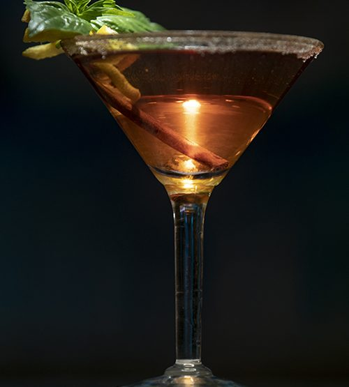 The Capone Fall Cocktail from The Arlington Resort  Hotel & Spa