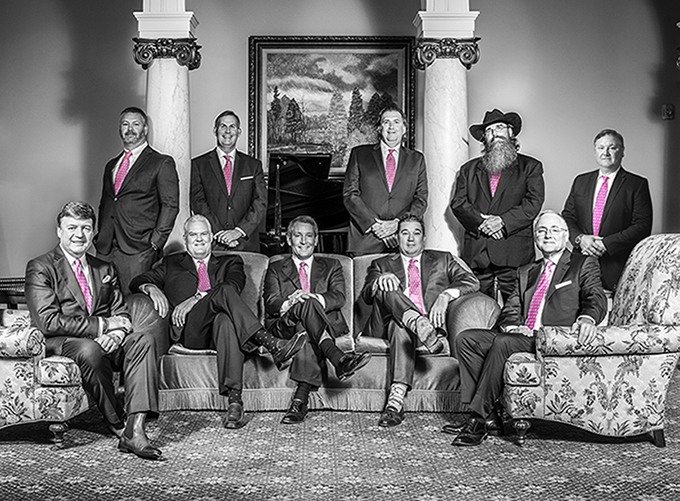 Men in Pink Ties