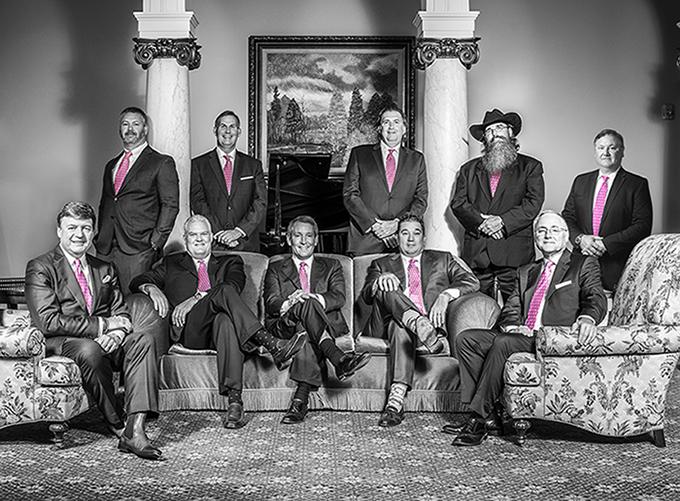 Men in Pink Ties